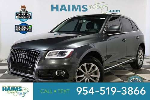 2015 Audi Q5 quattro 4dr 2.0T Premium Plus for sale in Lauderdale Lakes, FL