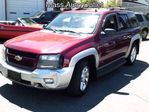 2008 Chevrolet TrailBlazer 4WD 4dr LT w/3LT for sale in Worcester, MA