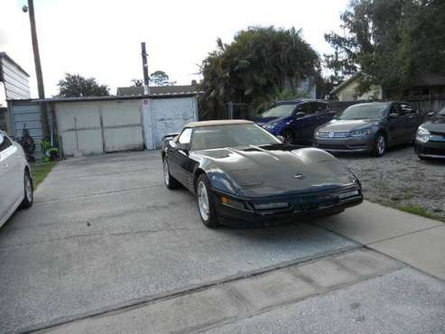 1991 Corvette Convertible Greenwood for sale in largo, FL