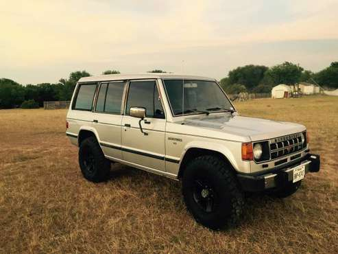 89 Mitsubishi Montero 4X4, air locker,V6, for sale in Troy, TX