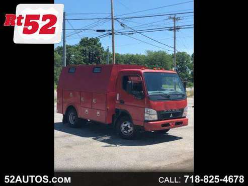 2010 Mitsubishi Fuso FE83D FUSO FE125 ENCLOSED UTILITY BODY SERVICE... for sale in Walden, NY