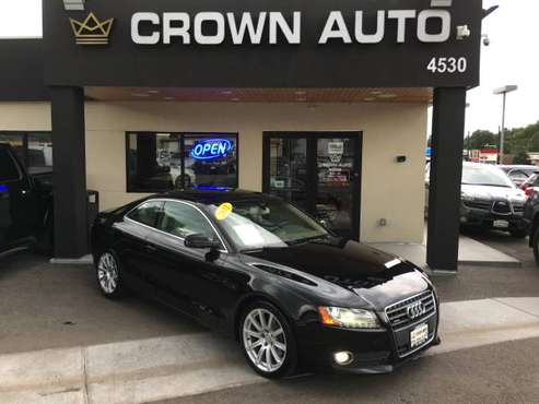 2011 Audi A5 Coupe 2.0T AWD 87K 6 Speed Manual Excellent Condition for sale in Englewood, CO
