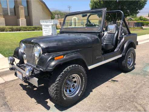 1984 JEEP CJ7 - cars & trucks - by owner - vehicle automotive sale for sale in Culver City, CA