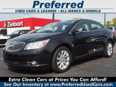 2013 Buick LaCrosse Premium 1 AWD 4dr Sedan - Low Rate Bank Finance... for sale in Fairfield, OH