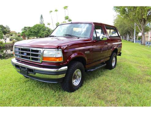 1996 Ford Bronco for sale in Miami, FL