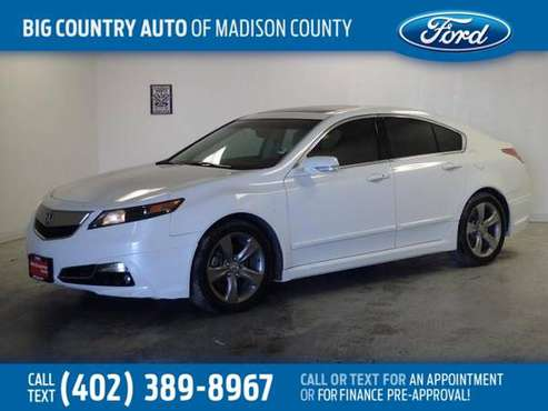 *2012* *Acura* *TL* *4dr Sdn Auto 2WD Advance* for sale in Madison, NE