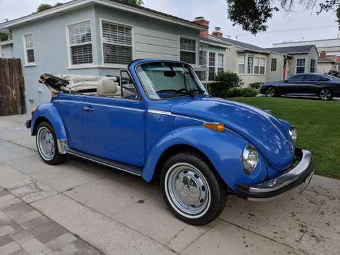 1978 VW Super Beetle Convertible Bug for sale in Burbank, CA