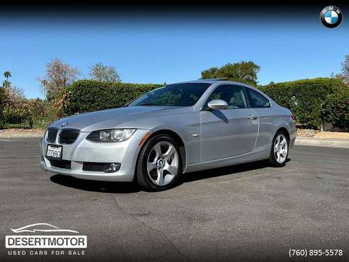 2007 BMW 328 COUPE LOW MILEAGE CLEAN TITLE! for sale in Palm Desert , CA