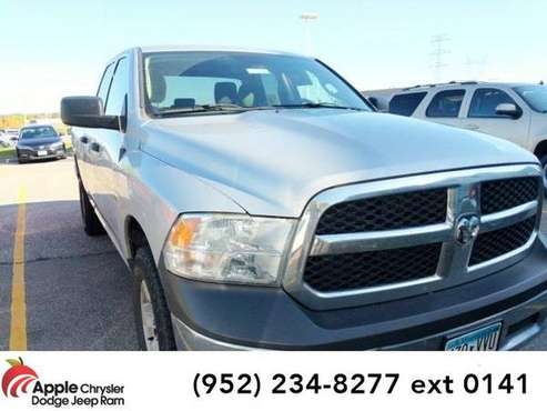 2015 Ram 1500 truck Tradesman (Bright Silver Metallic Clearcoat) for sale in Shakopee, MN