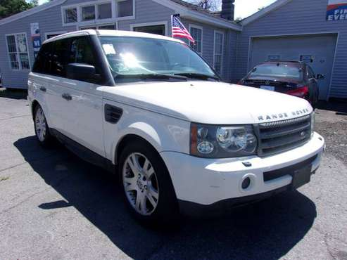 2009 Range Rover Sport HSE/NAV/ALL CREDIT IS APPROVED@Topline.. for sale in Haverhill, MA