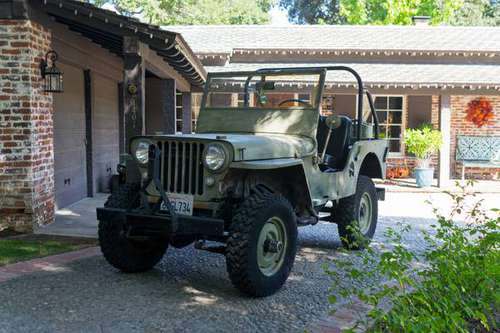 1946 Willys CJ2A 4.3L Chevy Driver for sale in Glendale, CA