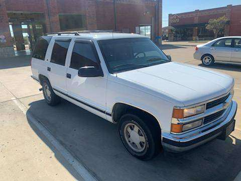 1998 Tahoe (NEW MOTOR HAS 60K MILES) for sale in Little Elm, TX