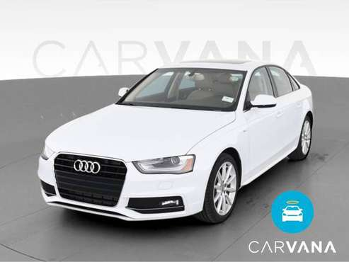 2015 Audi A4 Premium Plus Sedan 4D sedan White - FINANCE ONLINE -... for sale in Baltimore, MD