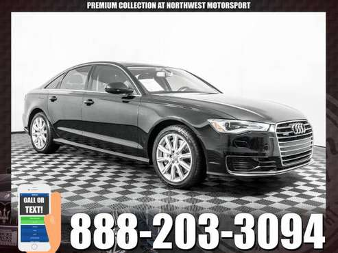 *PREMIUM LUXURY* 2016 *Audi A6* Premium AWD for sale in PUYALLUP, WA