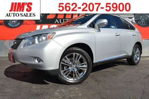 *2010* *Lexus* *RX 350* *Lexus RX350 Navigation Backup Camera Moonroof for sale in HARBOR CITY, CA