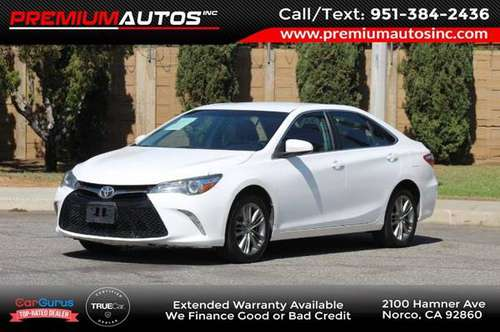 2017 Toyota Camry SE - cars & trucks - by dealer - vehicle... for sale in Norco, CA