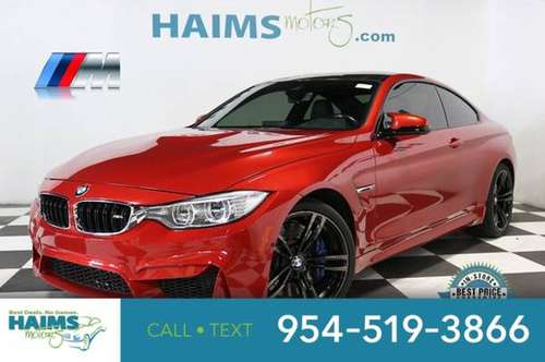 2015 BMW M4 2dr Coupe for sale in Lauderdale Lakes, FL