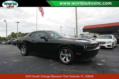 2015 Dodge Challenger SXT Plus $729 DOWN $85/WEEKLY for sale in Orlando, FL