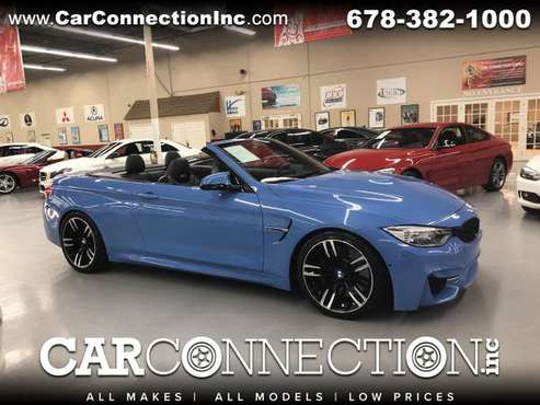 2016 BMW M4 Convertible YAS MARINA BLUE !!!! for sale in Tucker, GA