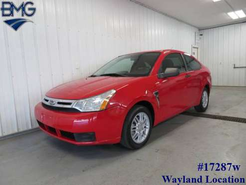 2008 Ford Focus Coupe 35 mpg SYNC New Tires - Warranty for sale in Wayland, MI