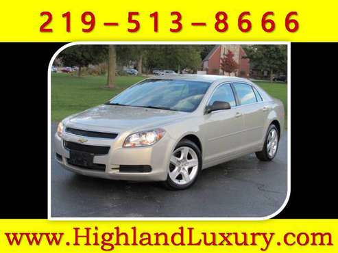 2012 CHEVROLET MALIBU * ONE OWNER * WARRANTY INCLUDED * BLUETOOTH *AUX for sale in Highland, IL