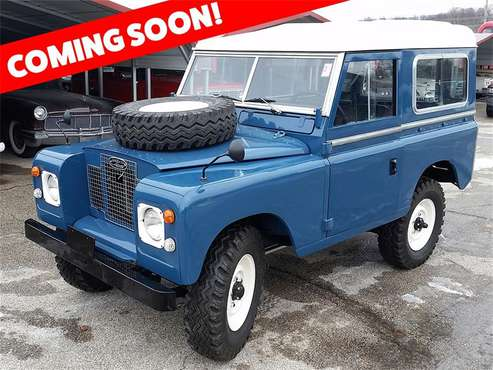 1973 Land Rover Series II for sale in St. Louis, MO