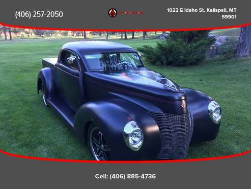 1940 Ford Unique - Financing Available! - cars & trucks - by dealer... for sale in Kalispell, WA