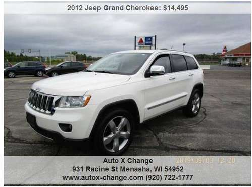 2012 Jeep Grand Cherokee Overland 4x4 4dr SUV 135935 Miles for sale in Neenah, WI
