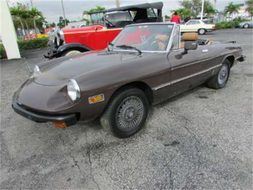 1979 Alfa Romeo Giulietta Spider for sale in Miami, FL
