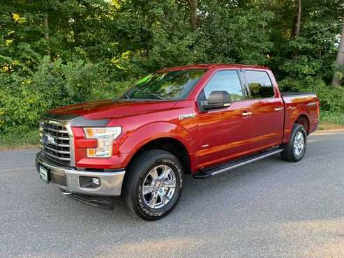 2017 Ford F-150 XLT Crew Cab 4x4 Ecoboost - Navigation ! We Finance ! for sale in Tyngsboro, MA
