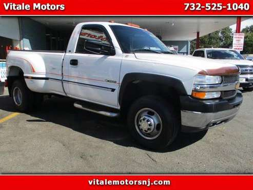 2001 Chevrolet Silverado 3500 REG. CAB 4X4 DUALLY ONLY 40K MILES for sale in south amboy, NJ