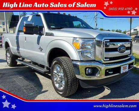 2014 Ford F-350 F350 F 350 Super Duty Lariat 4x4 4dr Crew Cab 6.8 ft. for sale in Salem, MA