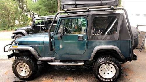 Jeep Wrangler 4x4 - cars & trucks - by owner - vehicle automotive sale for sale in Berlin, RI