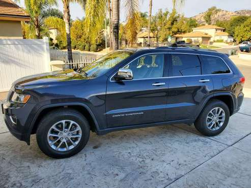 2016 Jeep Grand Cherokee - cars & trucks - by owner - vehicle... for sale in Escondido, CA