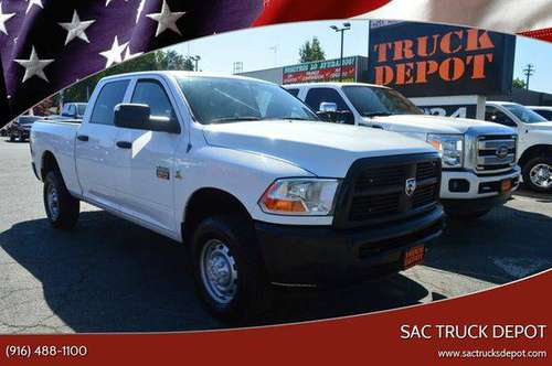 2012 RAM Ram Pickup 2500 ST 4x4 4dr Crew Cab 6.3 ft. SB Pickup BAD for sale in Sacramento , CA