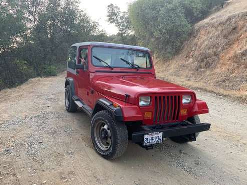 1990 Jeep Wrangler YJ for sale in Grass Valley, CA