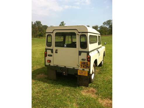 1975 Land Rover Series IIA for sale in FLINT HILL, VA