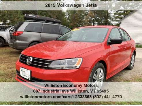 ►►2015 Volkswagen Jetta TDI SE 87k Miles for sale in Williston, NH