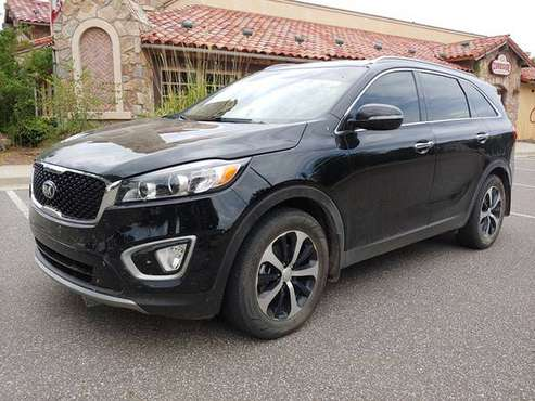 2018 KIA SORENTO EX LEATHER LOADED! 3RD ROW! 1 OWNER! CLEAN CARFAX! for sale in Norman, TX
