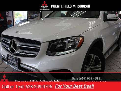 2016 Mercedes Benz GLC300 SUV*38k*Loaded*Warranty* for sale in City of Industry, CA