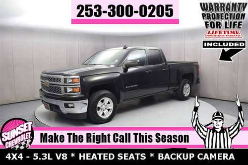 2015 Chevrolet Silverado 1500 LT 4WD Cab 4X4 PICKUP TRUCK AWD F150 for sale in Sumner, WA