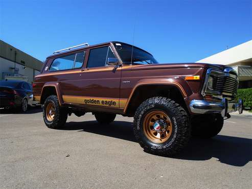 1977 Jeep Cherokee Chief for sale in San Diego, CA