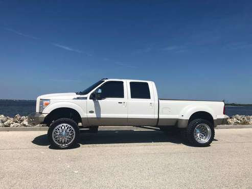 SUPER CLEAN LIFTED KING RANCH F350 DUALLY 6.7 POWERSTROKE DIESEL for sale in Boca Raton, FL