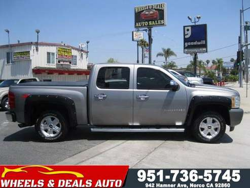 2008 Chevy Silverado Crew Cab Z71 for sale in Norco, CA