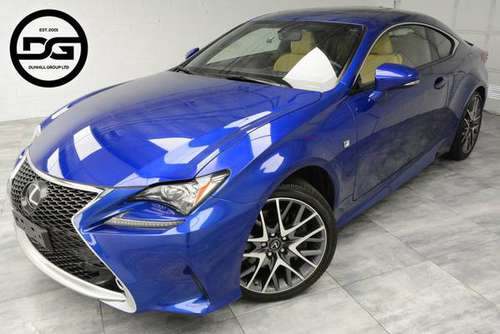2016 *Lexus* *RC 300* *2dr Coupe* Blue for sale in North Brunswick, NJ