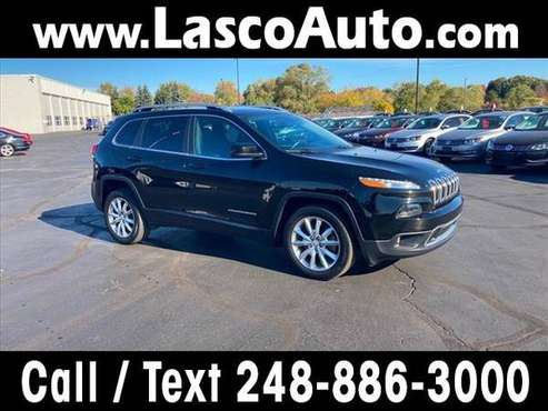 2017 Jeep Cherokee Limited - SUV - cars & trucks - by dealer -... for sale in Waterford, MI