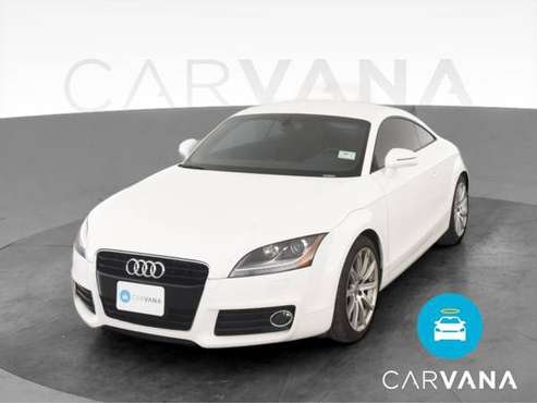2013 Audi TT Quattro Premium Plus Coupe 2D coupe White - FINANCE -... for sale in Tucson, AZ