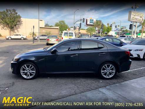 2007 LEXUS IS250-EVERYONE QUALIFIES!EASY FINANCE!WE FINANCE ANY CREDIT for sale in Canoga Park, CA