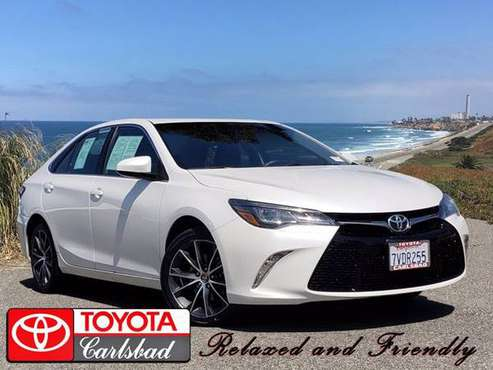 2017 Toyota Camry Xse V6 - cars & trucks - by dealer - vehicle... for sale in Carlsbad, CA