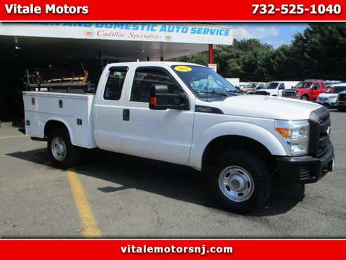 2011 Ford F-250 SD SUPER CAB 4X4 UTILITY BODY for sale in south amboy, NJ